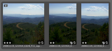 Systematical error in Aperture when trying the export the edited image (the square one) from stack or without stack.
