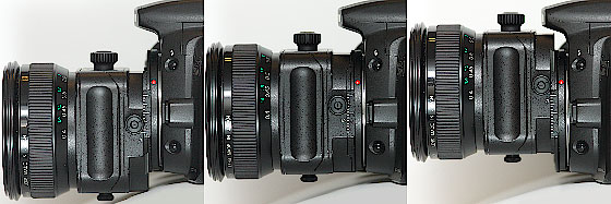 Canon TS-E45mm f/2.8 and Canon EOS 20D