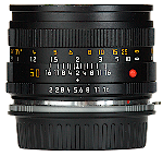 Leica Summicron-R 50mm f/2.0 - Sideview