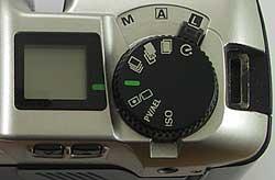 Mode & Settings selector
